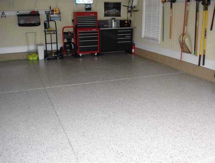 Garage floor Mooresville