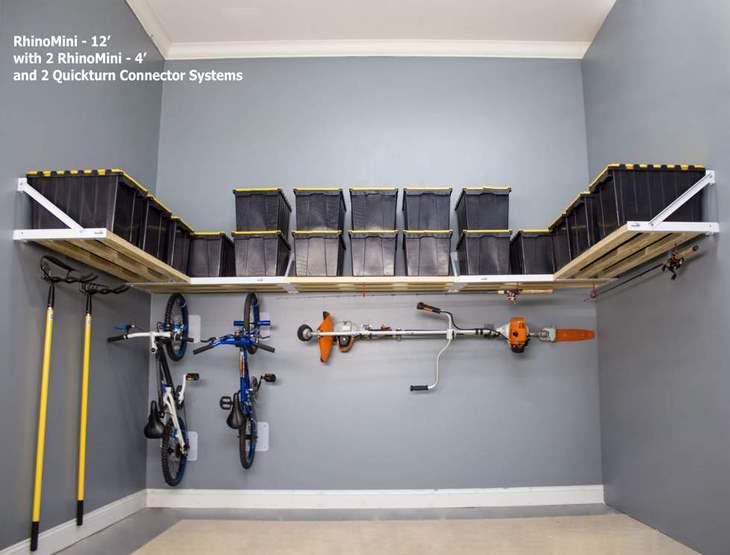 Garage Shelving Full Wall