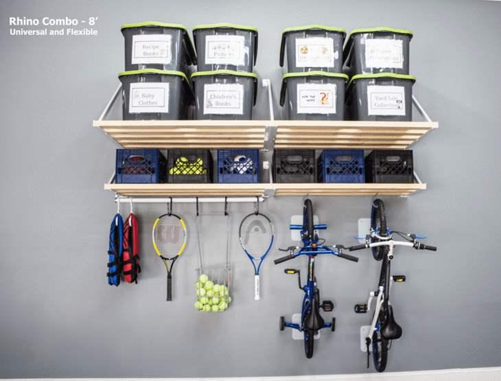 Rhino Garage Wall Shelves